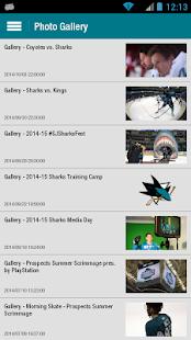 San Jose Sharks Official App - screenshot thumbnail
