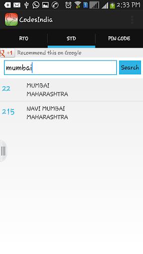 Download India Codes - (STD,PIN,RTO) Google Play softwares