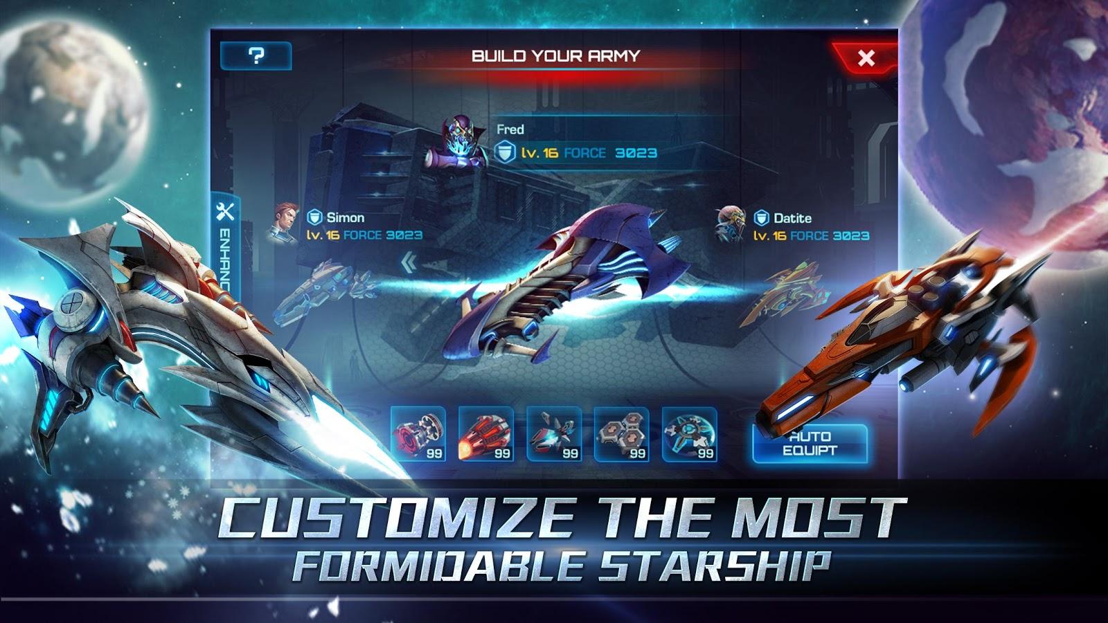 Galaxy Legend - screenshot