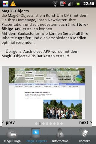APP-Baukasten - MC-Informatik - screenshot