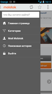 Molotok.ru - screenshot thumbnail