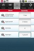 Screenshot of Fiber Tracker