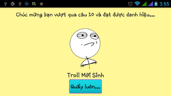 Ai la thanh troll version 2