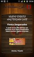 Screenshot of Amsterdam Café