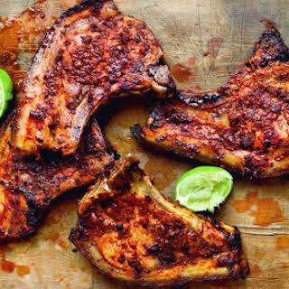 Adobo Marinated Pork Chops.