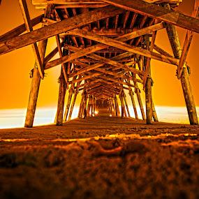 Fire Pier by Cathie Crow - Buildings & Architecture Bridges & Suspended Structures