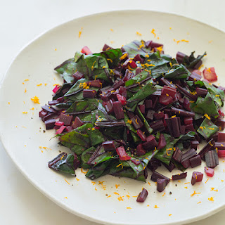 Citrus SautéEd Beet Stems Recipe