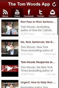 The Tom Woods App - screenshot thumbnail