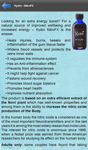 Kyani Medicine - screenshot