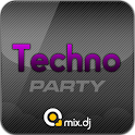 Techno Party by mix.dj logo