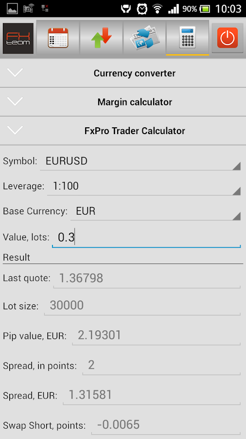 Forex economic calendar csv download
