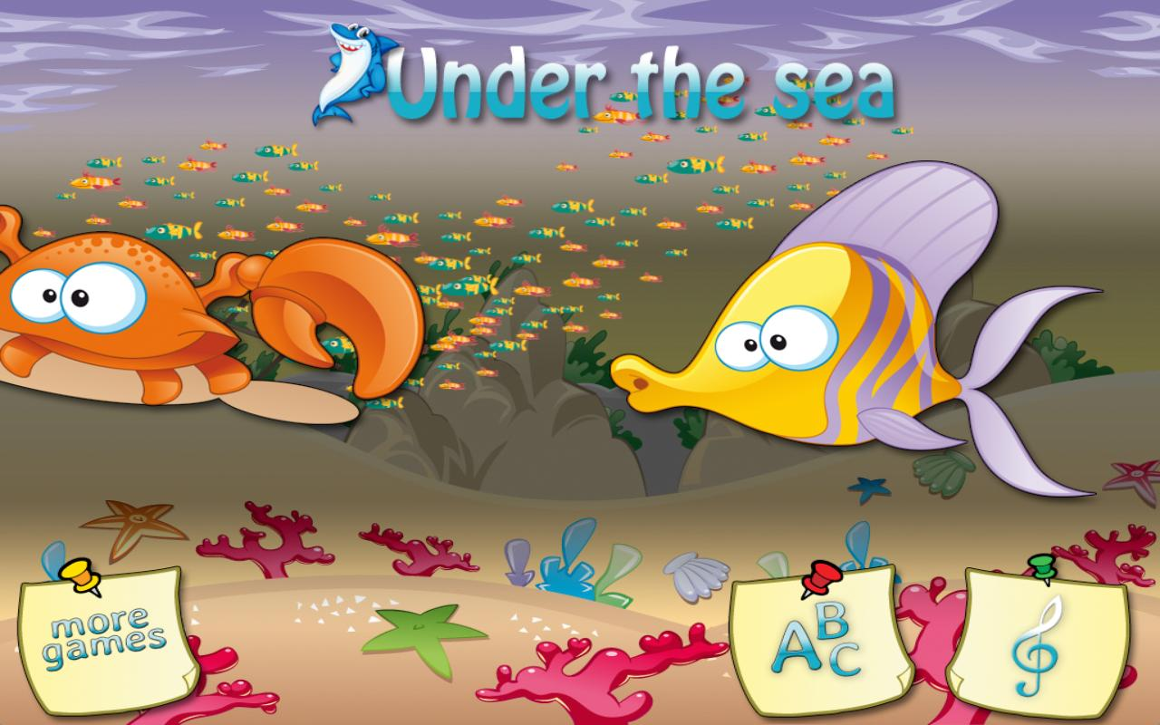 Under the sea - Free Counting- screenshot