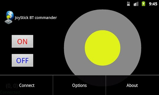Joystick bluetooth Commander- screenshot thumbnail