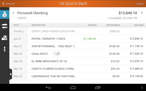 1st Source Bank Mobile - screenshot thumbnail