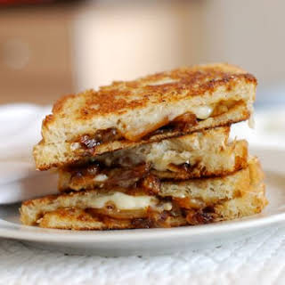 Caramelized Onion Grilled Cheese.