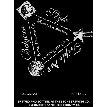 Logo of Alesmith / Mikkeller / Stone Belgian Style Tripel Ale
