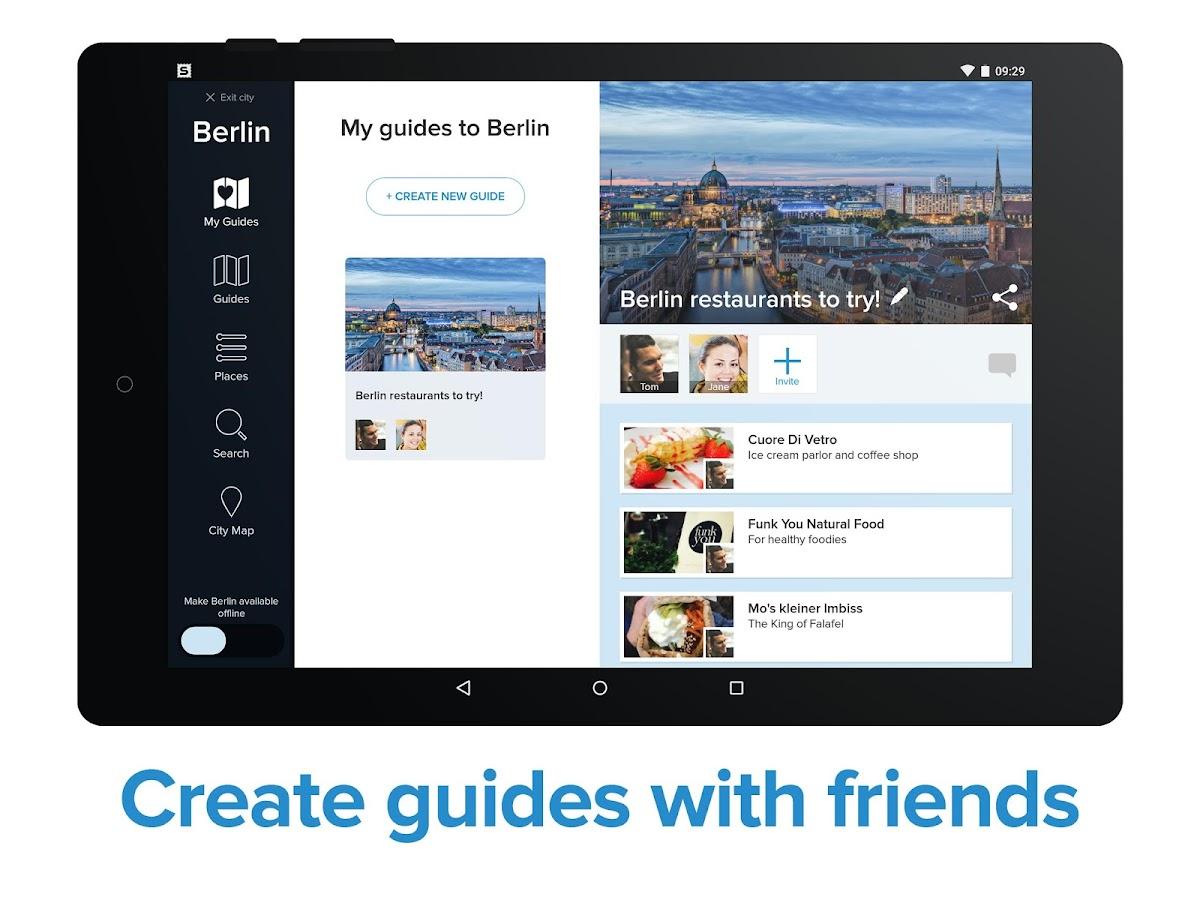 City Guides and Offline Maps- screenshot