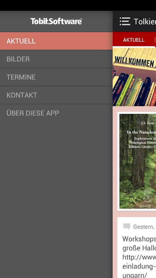 Deutsche Tolkien Gesellschaft - screenshot