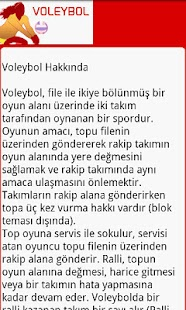 Voleybol - screenshot thumbnail