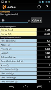 Kilocalc FREE- screenshot thumbnail