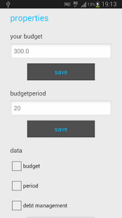 Budget Management - screenshot thumbnail
