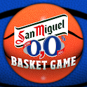San Miguel 0,0 Basket Game logo