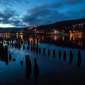 by Anngunn Dårflot - City,  Street & Park  Night (  )