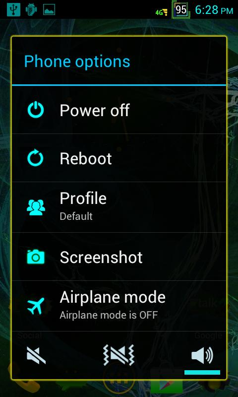 SCS CM9 CM10 CM10.1 AOKP - screenshot
