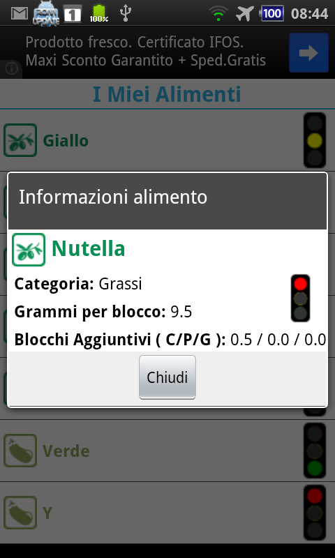 Calcolo Zona - screenshot