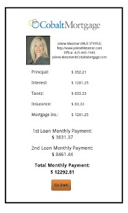 Jolene Messmer's Mortgage Calc - screenshot thumbnail