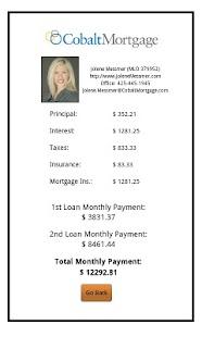 Jolene Messmer's Mortgage Calc - screenshot thumbnail