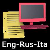 Eng-Rus-Ita Offline Translator
