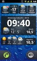 Screenshot of Wetter Widgets Österreich
