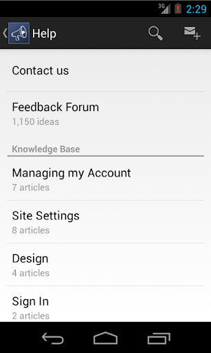 UserVoice Help Center