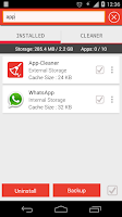 Screenshot of App Manager & Cleaner
