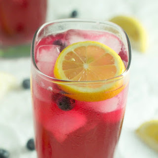 Refreshing Blueberry Lemonade.
