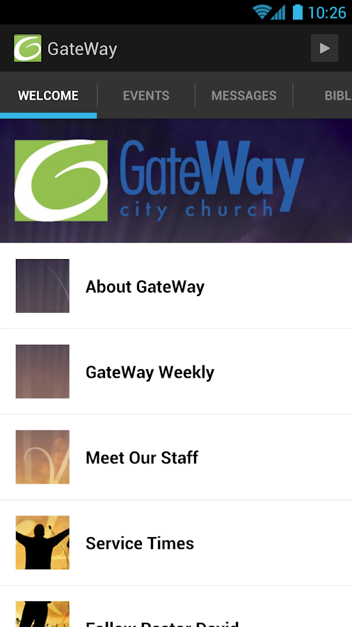 GateWay City Church Mobile - screenshot