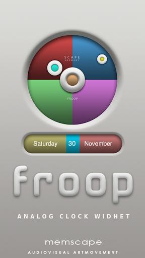 FROOP Clock Widget