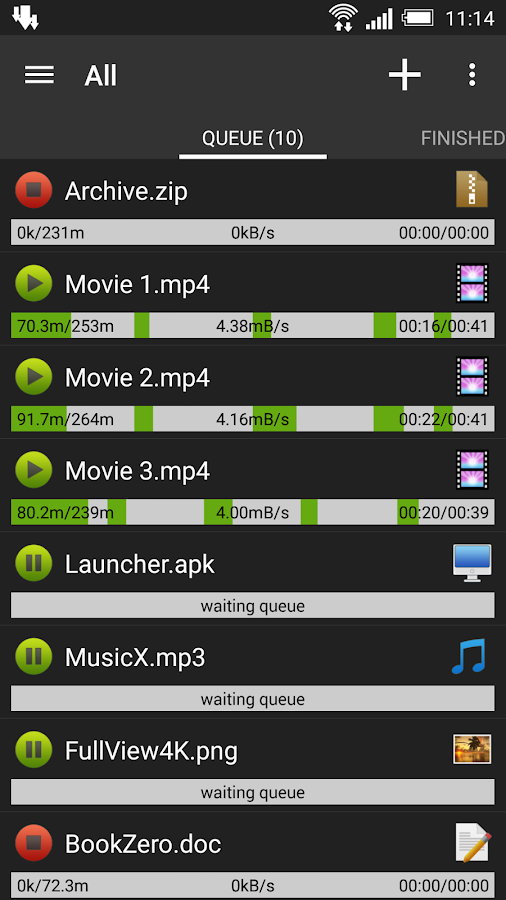 Advanced Download Manager - screenshot