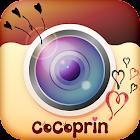 可愛くプリしてデコれる無料カメラアプリCoCoprin icon