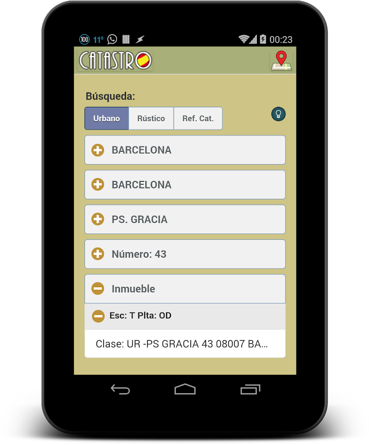 Catastro (España)- screenshot