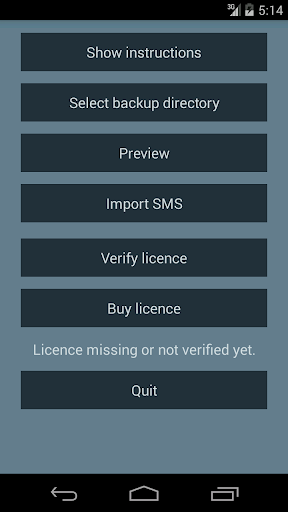 iPhone SMS import to Android