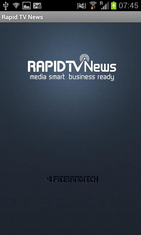 Rapid TV News International - screenshot