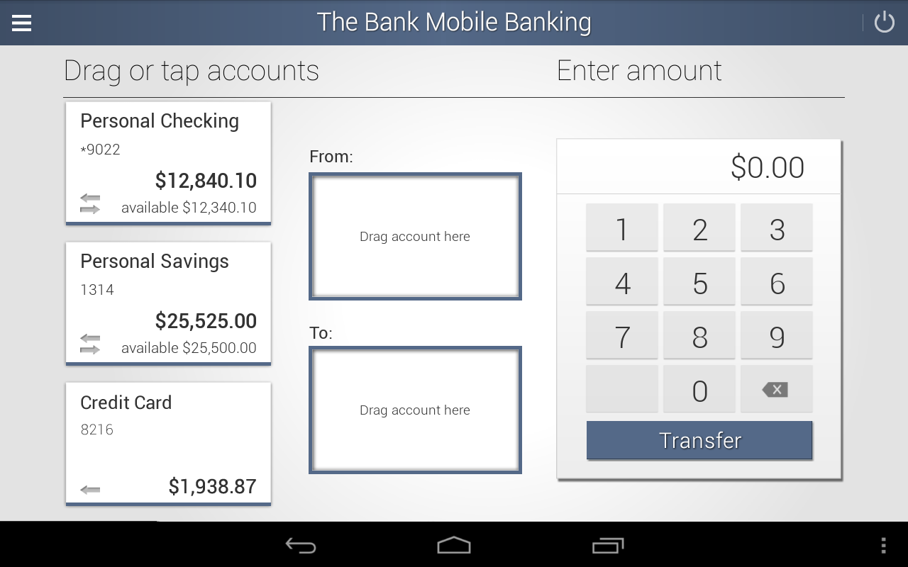 The Bank Mobile Banking- screenshot