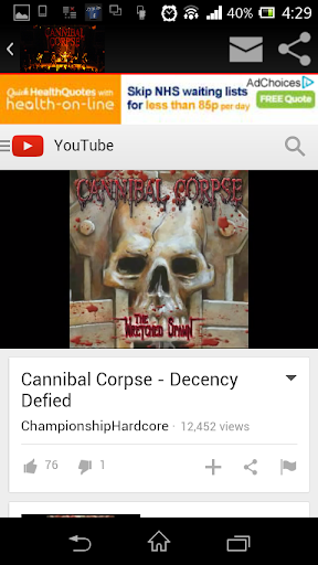 Metal: Cannibal Corpse Mania