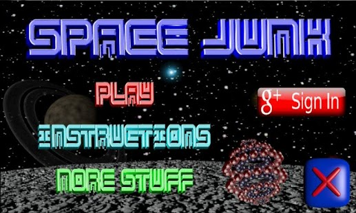 Space Junk- screenshot thumbnail