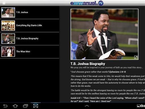 Emmanuel TV  screenshots 8