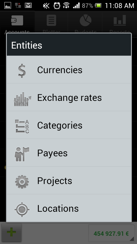 Flowzr Budget Finance Expense - screenshot