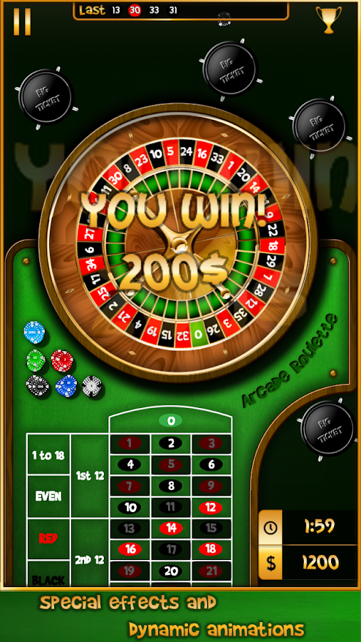 Arcade Roulette- screenshot