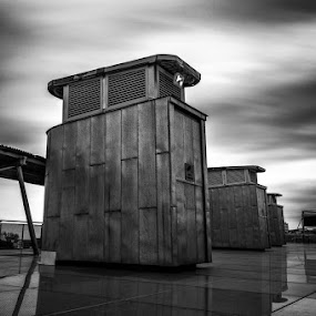 Chemical Grit by Liam Robson - Black & White Buildings & Architecture ( monochrome, black and white, sunderland, northeast, photography, finart )
